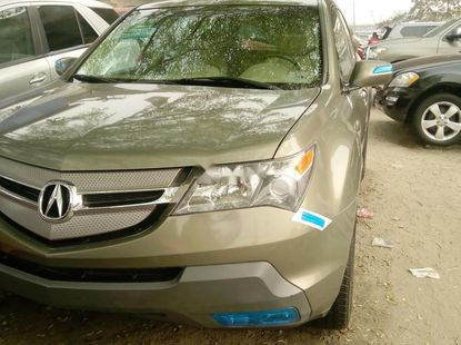 Foreign Used 2007 Green Acura MDX for sale in Lagos