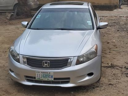 Super Clean Nigerian Used Honda accord  2009 Model