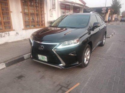 Very Clean Nigerian Used Lexus RX350 2017 Model