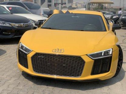 Nigeria Used Audi R8 2016 Model Yellow