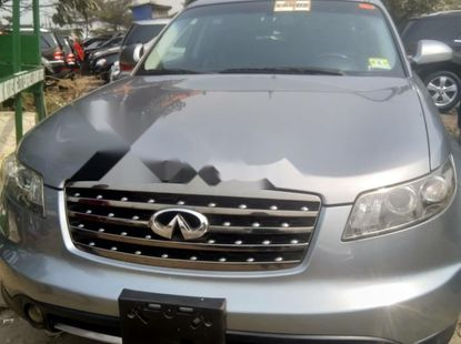 Foreign Used Infinity FX 2000 Model Silver