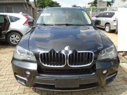 Foreign Used BMW X5 2011 Model Black