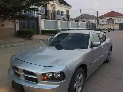 Foreign Used Dodge Charger 2010 Model Silver