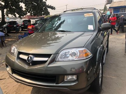 Foreign Used Acura MDX 2006 Model