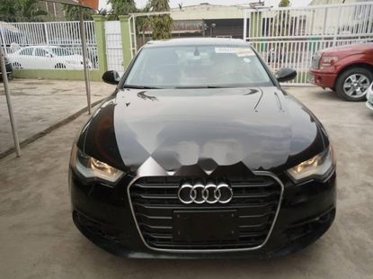 A Foreign Used Audi A6 2012 Model
