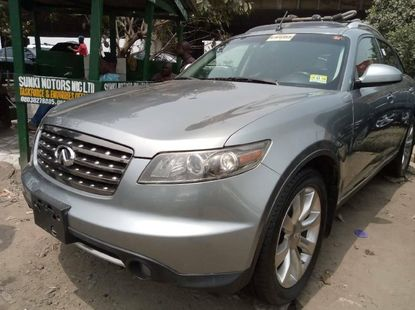 Foreign Used 2007 Grey Infinity FX for sale in Lagos