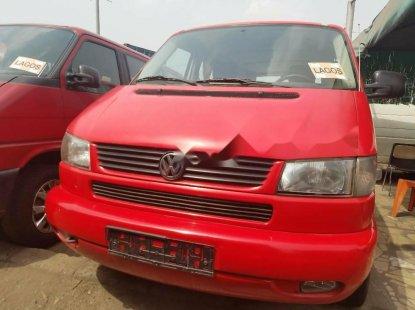 Tokunbo Volkswagen Transporter 2003 Model Red