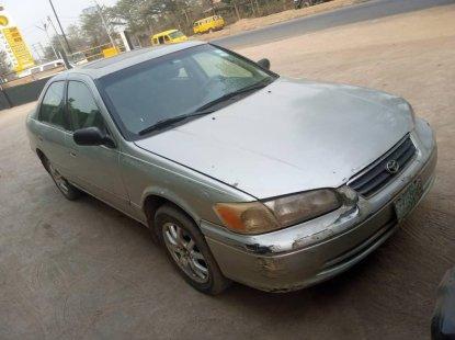 Nigeria Used Toyota Camry 2002 Model Beige
