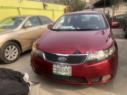 Nigeria Used Kia Cerato 2014 Model Red