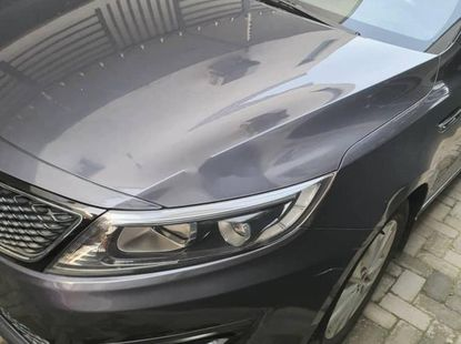 Nigeria Used Kia Optima 2015 Model Gray