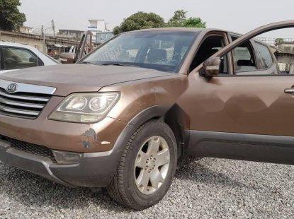Nigeria Used Kia Mohave 2010 Model Brown