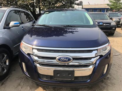 Foreign Used Ford Edge 2014 Model