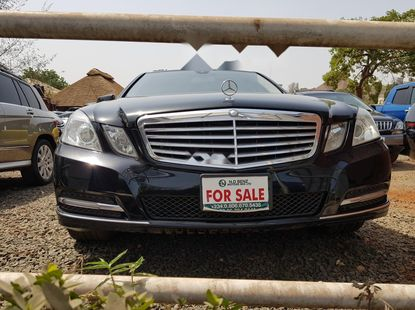 Tokunbo Mercedes-Benz E350 2012 Model Black