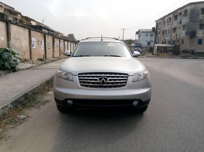 Foreign Used Infiniti FX 2005 Model Silver