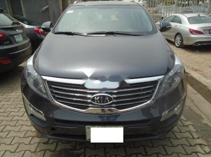 Nigeria Used Kia Sportage 2015 Model Gray