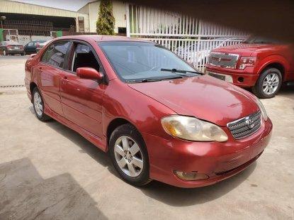 Well Maintained Naija Used Toyota Corolla 2005 Model