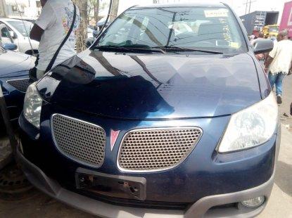 Foreign Used Pontiac Vibe 2006 Model Blue