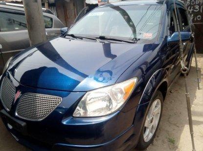 Foreign Used Pontiac Vibe 2005 Model Blue