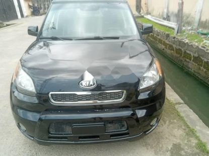 Foreign Used Kia Soul 2011 Model Black
