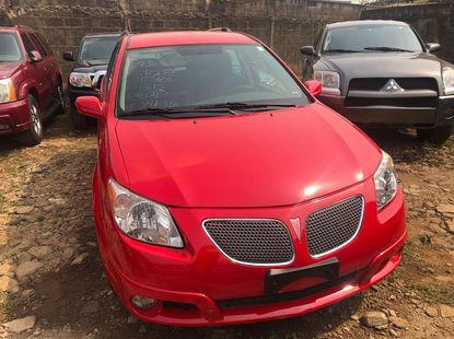 Foreign Used Pontiac Vibe 2005 Model