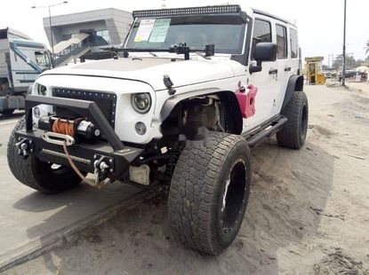 Foreign Used Jeep Wrangler 2017 Model White