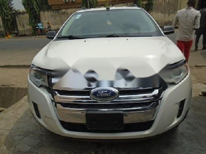 Foreign Used Ford Edge 2011 Model White