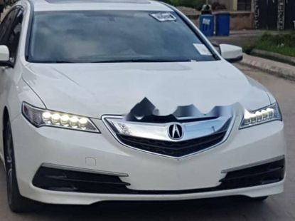 Foreign Used Acura TLX 2016 Model White