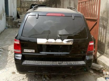 Foreign Used Ford Escape 2008 Model Black