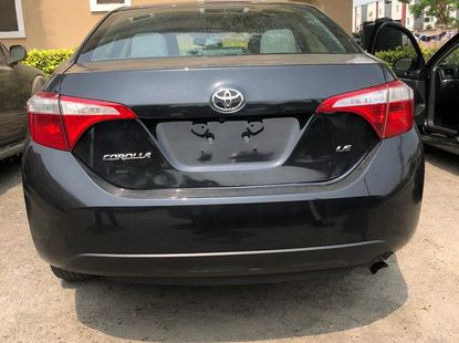 Super Clean Foreign Used Toyota Corolla 2016 Model