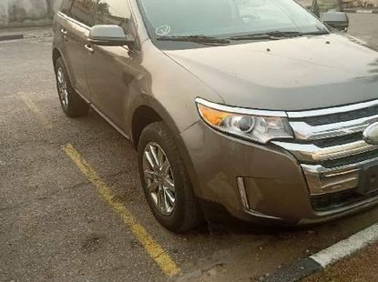 Foreign Used Ford Edge 2012 Model Gold