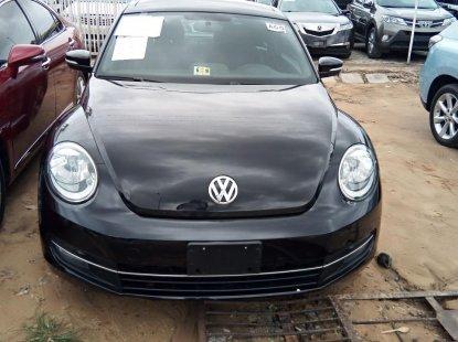 Tokunbo Volkswagen Beetle 2012 Model Black