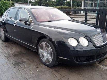 Foreign Used Bentley Continental 2006 Model Black