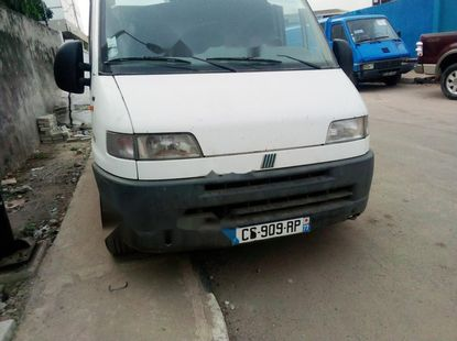 Foreign Used Fiat Ducato 2001 Model White