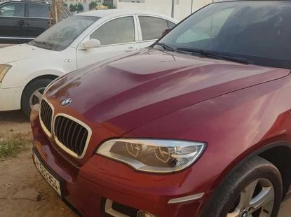 Foreign Used BMW X6 2013 Model Red