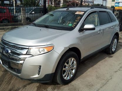Foreign Used Ford Edge 2013 Model Silver