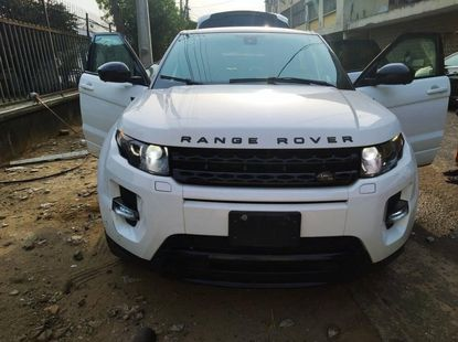 Foreign Used Range Rover Evogue 2015 Model