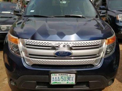 Nigeria Used Ford Explorer 2013 Model Blue