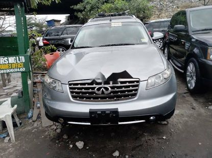 Foreign Used Infinity FX 2007 Model Silver