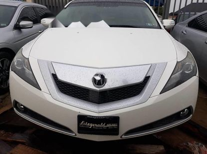 Foreign Used Acura ZDX 2011 Model White