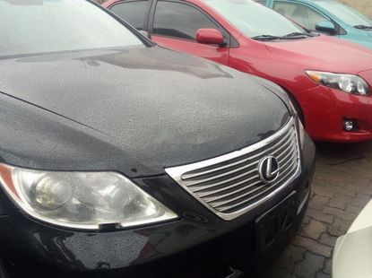 Foreign Used Lexus LS 2007 Model Black