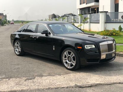 Foreign Used Rolls-Royce Ghost 2014 Model Black