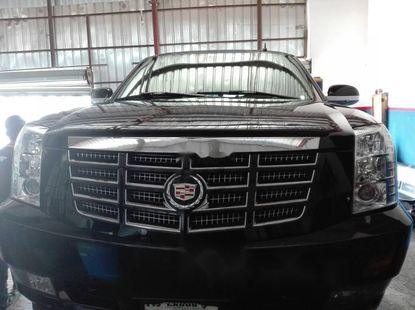 Nigeria Used Cadillac Escalade 2007 Model Black