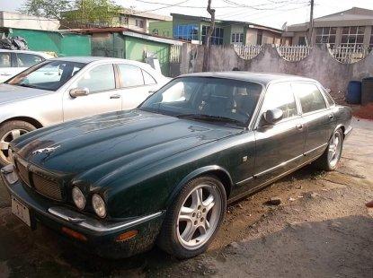 Nigeria Used Jaguar XJ 2001 Model Black