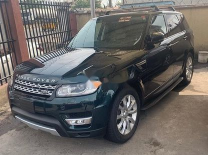 Foreign Used 2016 Green Land Rover Range Rover Sport for sale in Lagos