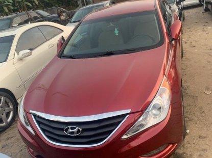 Foreign Used Hyundai Sonata 2012 Model Red
