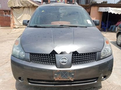 Foreign Used Nissan Quest 2005 Model Gray