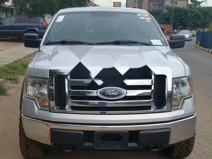 Foreign Used Ford F-150 2009 Model Silver