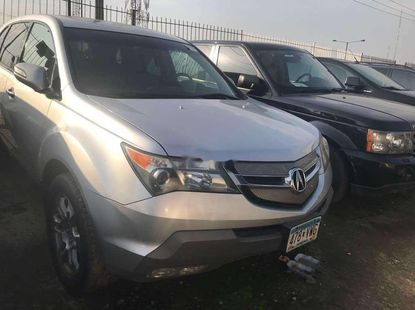 Foreign Used Acura MDX 2007 Model Silver