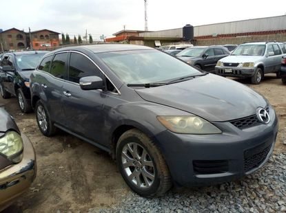 Nigeria Used Mazda CX-7 2009 Model Gray