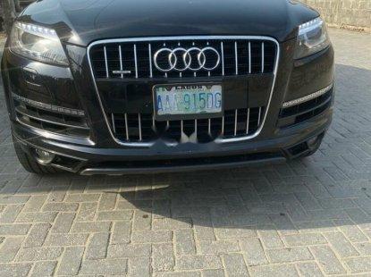 Nigeria Used Audi Q7 2014 Model Black